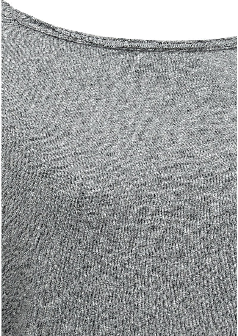American Vintage Sonoma Round Neck Top - Heather Grey main image