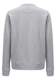 MAISON LABICHE Tomboy Cotton Sweatshirt - Grey