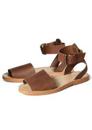 H By Hudson Soller Leather Sandals - Tan