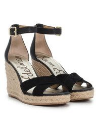 Sam Edelman Brenda Wedge Sandal - Black
