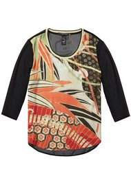 Maison Scotch Photo Print Top - Combo X