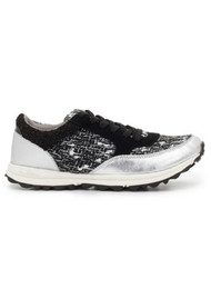 Sam Edelman Des Trainer - Black & White