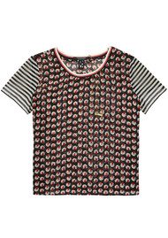 Maison Scotch Colourful Print Mix Tee - Combo A