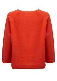 Des Petits Hauts  Bernard Cotton Sweater - Rouge