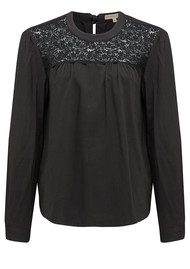 Paul and Joe Sister Sevilla Long Sleeve Top - Carbonne