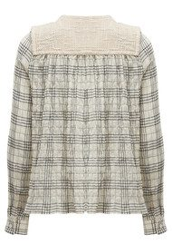 Paul and Joe Sister Ipanema Cotton Blouse - Ecru