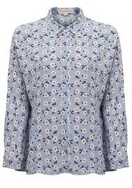 Paul and Joe Sister Claudy Printed Blouse - Gris