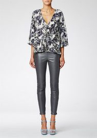 Twist and Tango Vicky Blouse - Mist Morning Print