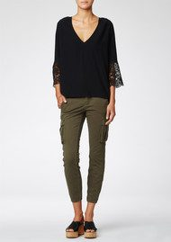Twist and Tango Lara Blouse - Black