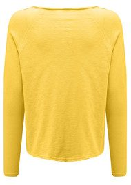 American Vintage Sonoma Long Sleeve Tee - Buttercup