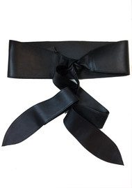 Black & Brown  Deliah Belt - Black