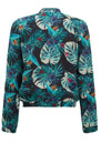 Pyrus Ivy Bomber Jacket - Tropical Print