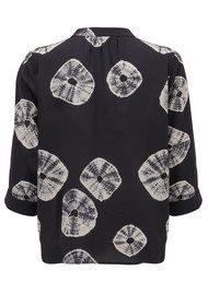 Pyrus Paola Blouse - Tie Dye Black & White