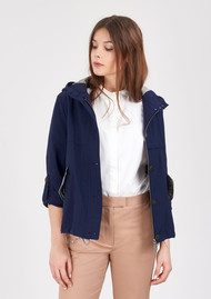 PARKA LONDON Anja Crop Jacket - Indigo