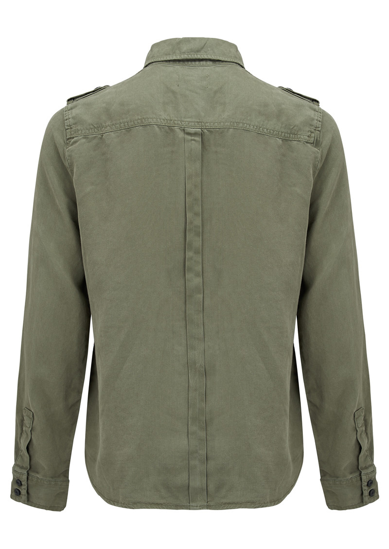 Le Military Shirt - Military Green main image