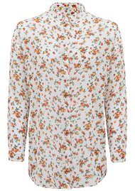 American Vintage Toasky Printed Shirt - Strawberry Dove