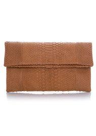 Butterfly Clutch Bag - Tan