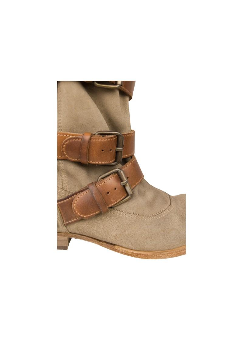 Hudson London Keira Boots - Beige main image