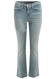 J Brand Selena Mid Crop Bootcut Jeans - Decades