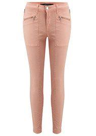 J Brand Genesis Mid Rise Utility Jeans - Rose Cloud