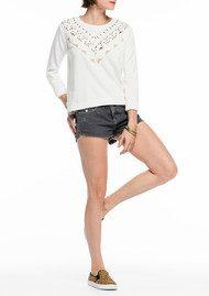 Maison Scotch Embellished Sweatshirt - Off White