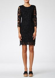 Twist and Tango Julia Lace Dress - Black
