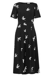 Great Plains Skylark Printed Jumpsuit - Black Combo