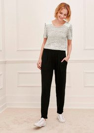 Great Plains Sudbury Jersey Trouser - Black