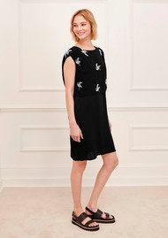 Great Plains Skylark Printed Dress - Black Combo