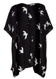 Great Plains Skylark Printed Kimono - Black Combo