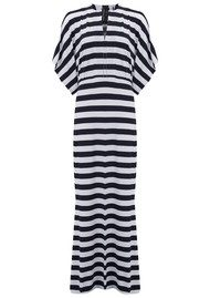 KAMALI KULTURE Obie Gown - Midnight & White Stripe