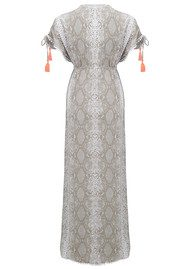 BETH AND TRACIE Helena Maxi Dress - Snake Fawn