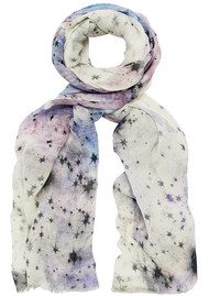 Lily and Lionel Dia Scarf - White