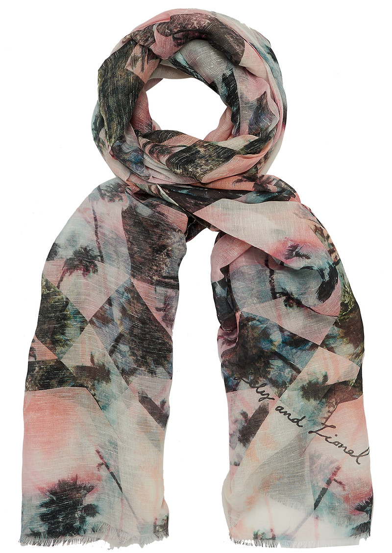 Lily and Lionel Tara Scarf - Pastels main image