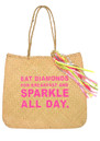 COUNTING STARS Beach bound bag- Diamonds