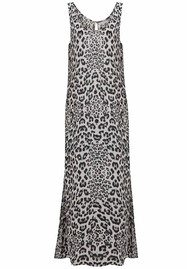 Lily and Lionel Lani Leopard Printed Maxi Dress - Monochrome