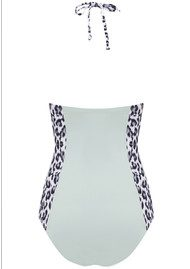Lily and Lionel Lani Structured One Piece Swimsuit - Monochrome