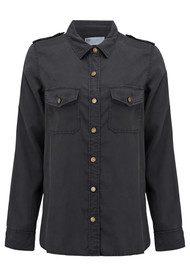 REIKO Claryss Shirt - Carbon