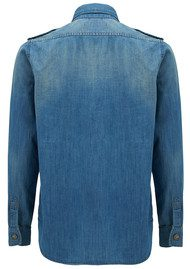 REIKO Claryss Shirt - Denim Blue