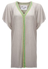 PITUSA Mini Abaya Dress - Grey