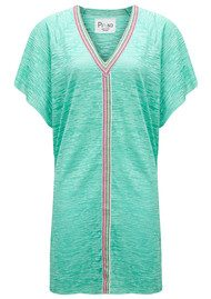 PITUSA Mini Abaya Dress - Mint