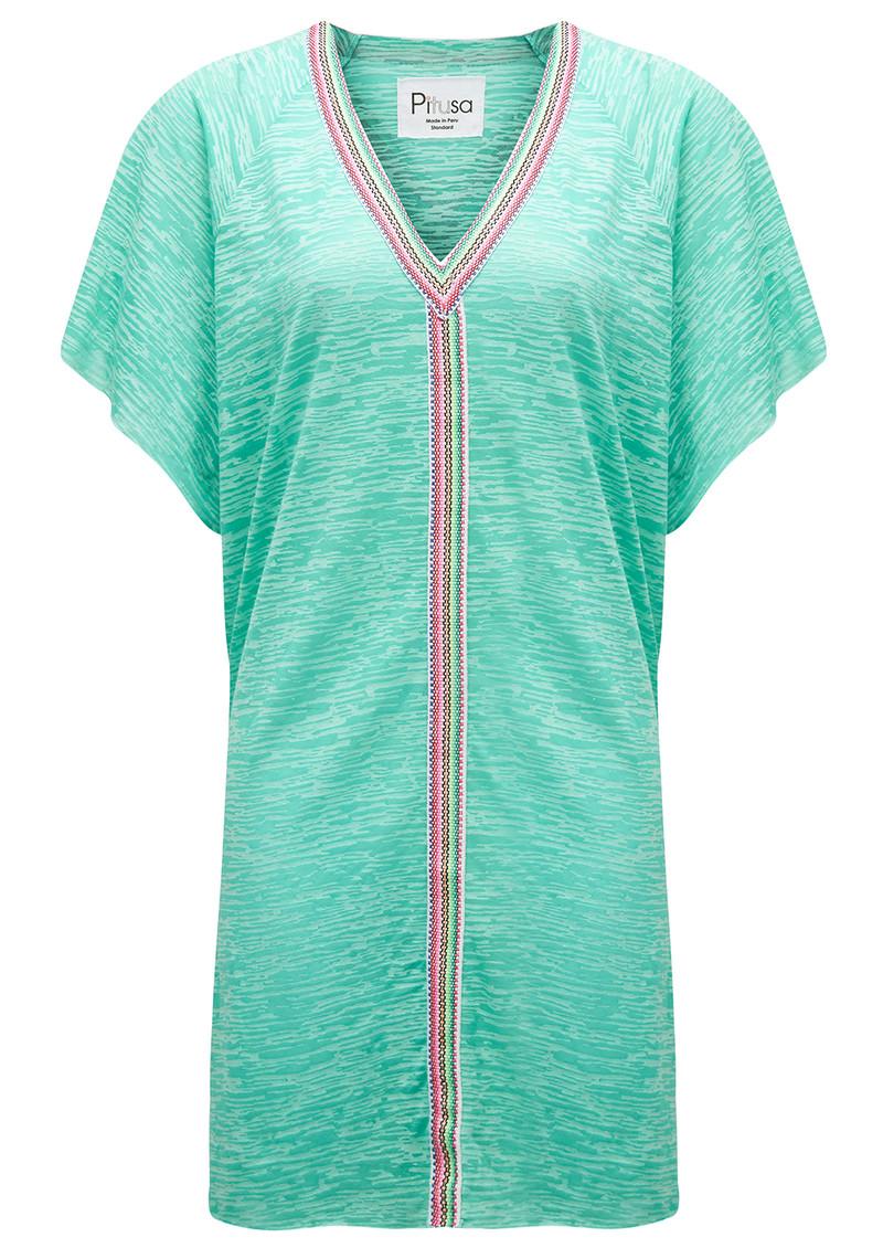 PITUSA Mini Abaya Dress - Mint main image