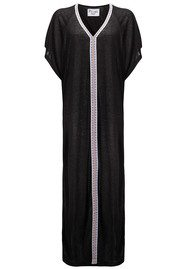 PITUSA Abaya Dress - Black & White