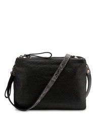 Liebeskind Karen Snake shoulder Bag - Black