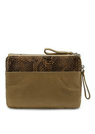 Liebeskind Karen Snake shoulder bag - Camouflage green