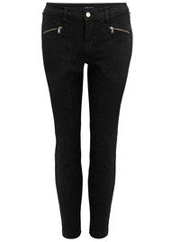 J Brand Genesis Mid Rise Utility Jeans - Direct Black