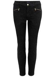 J Brand Genesis Mid Rise Utility Jeans - Direct Black