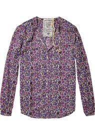 Maison Scotch Printed Shirt - combo A