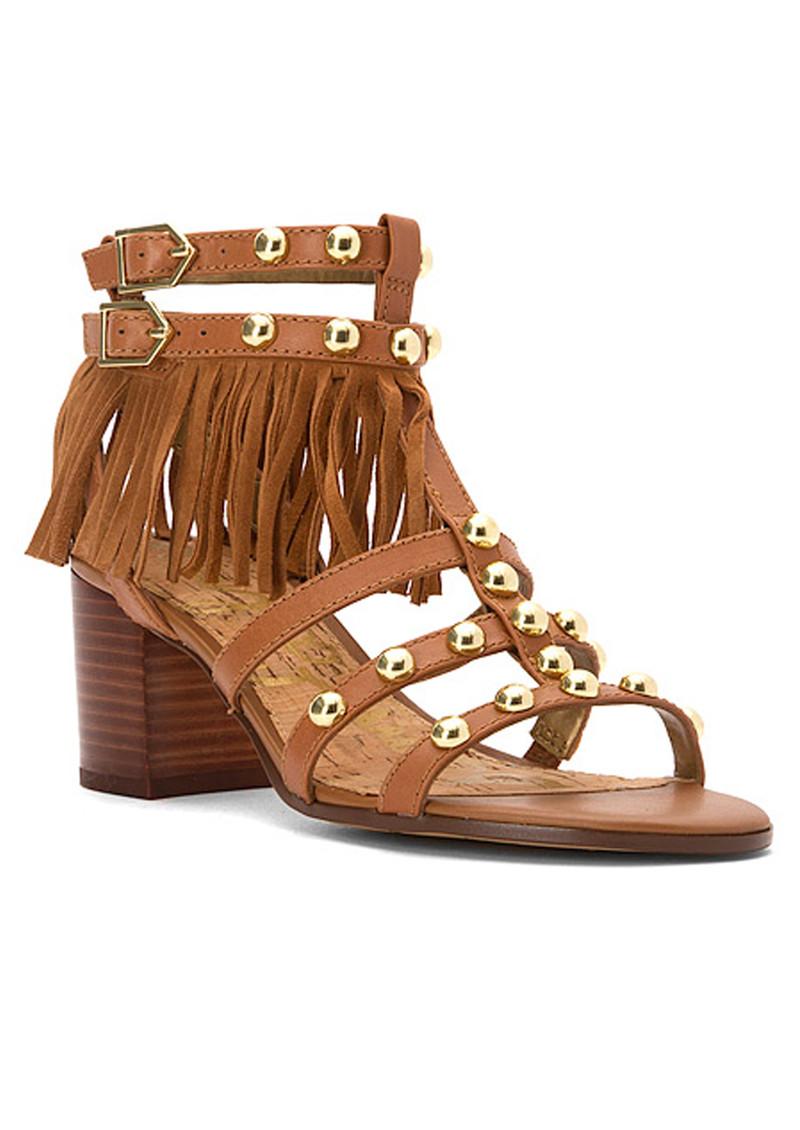 Sam Edelman Shaelynn Fringe Sandals - Saddle main image