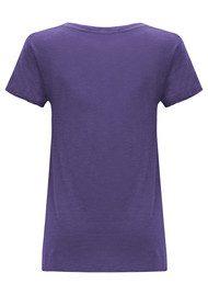 American Vintage Jacksonville Short Sleeve Tee - Purple